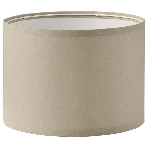 RINGSTA Lampeskjerm, beige, 33 cm