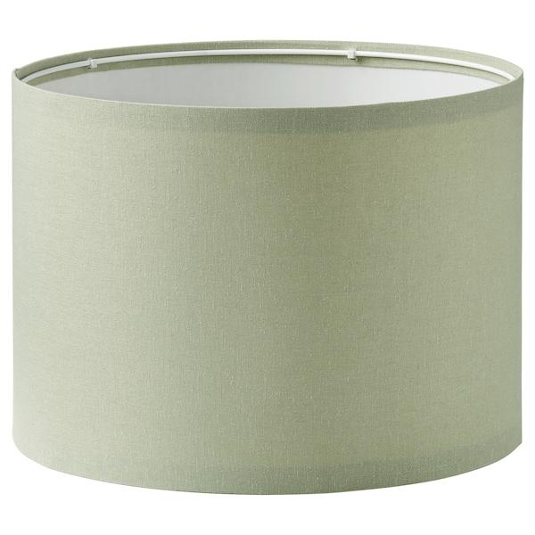 RINGSTA Lampeskjerm, lys grønn, 33 cm