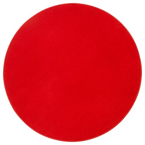 RISGÅRDE teppe, kort lugg rød 70 cm 1110 g/m² 450 g/m² 6 mm 0.38 m²