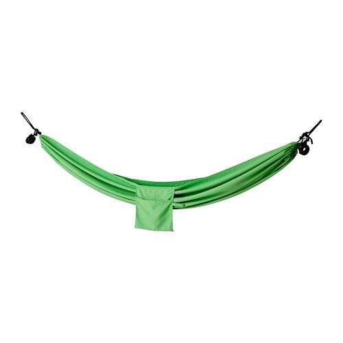 RISÖ Hengekøye , grønn Lengde: 265 cm Bredde: 150 cm Maks belastning: 120 kg