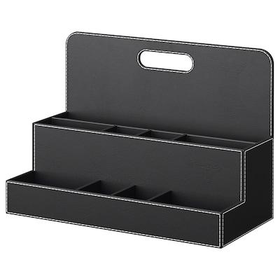 RISSLA Oppbevaring til arbeidsbord, svart