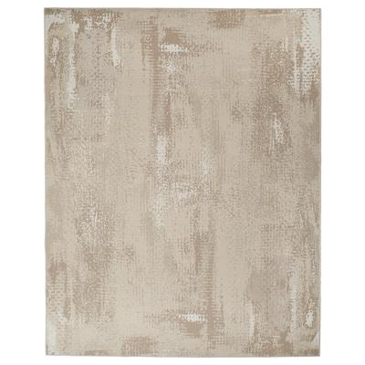 RODELUND Teppe flatvevd, inne/ute, beige, 200x250 cm