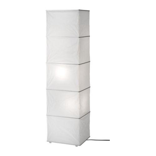 RUTBO Gulvlampe hvit Bredde: 30 cm Dybde: 25.5 cm Høyde: 114 cm Ledningslengde: 208 cm