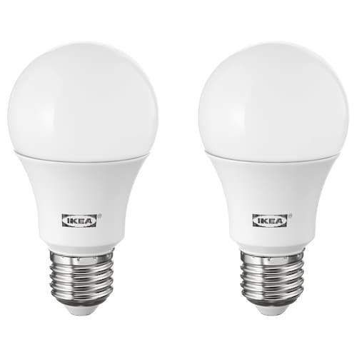 RYET LED-pære E27 1000 lumen globeformet opalhvit 2700 K 1000 lm 10.0 W 2 stk.