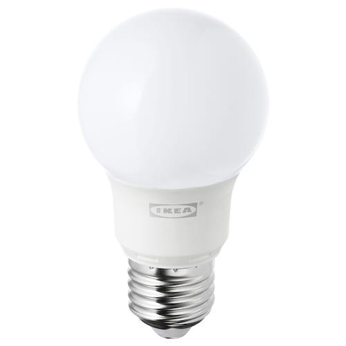 RYET LED-pære E27 400 lumen globeformet opalhvit 400 lm 5 W
