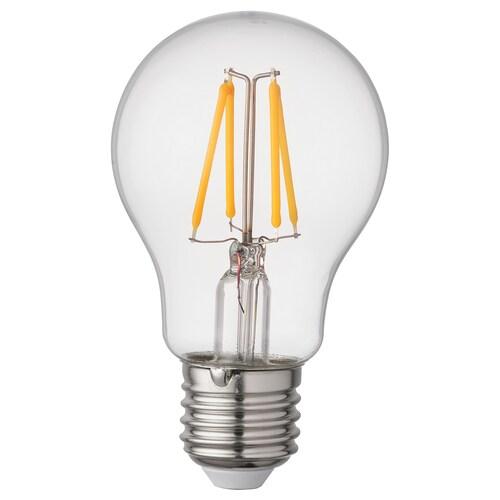 RYET LED-pære E27 470 lumen globeformet klar 2700 K 470 lm 60 mm 4.0 W