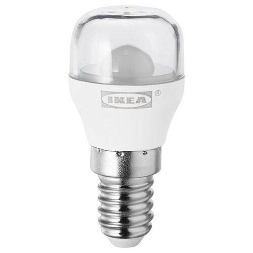 RYET LED-skiltpære E14 100 lumen klar 100 lm 2700 K 2700 K 100 lm 1.4 W 1 stk.