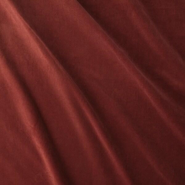SANELA Lysdempende gardiner, rødbrun, 140x300 cm