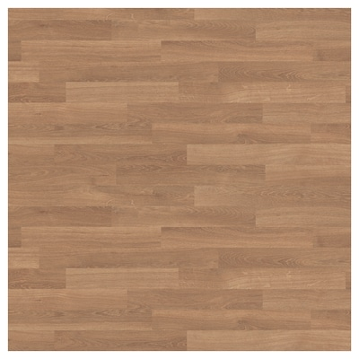 SIBBARP Spesialtilpasset veggplate, eikemønstret/laminat, 1 m²x1.3 cm