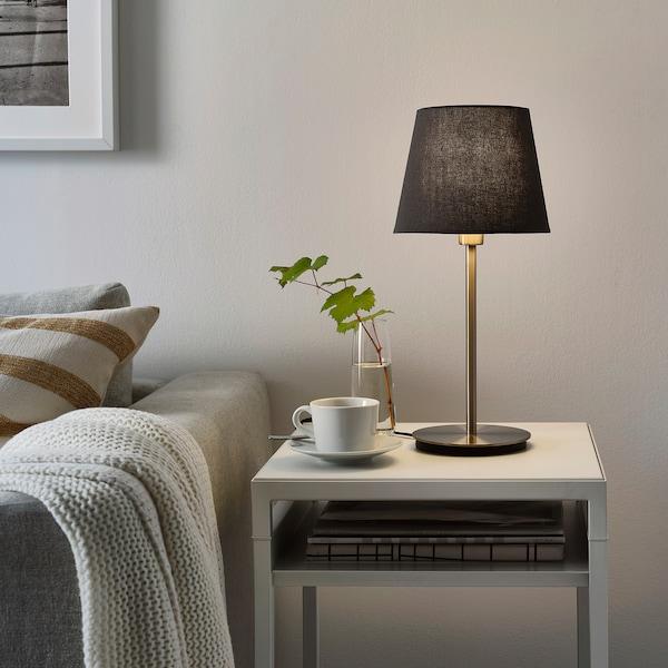 SKAFTET Bordlampefot, forniklet, 30 cm