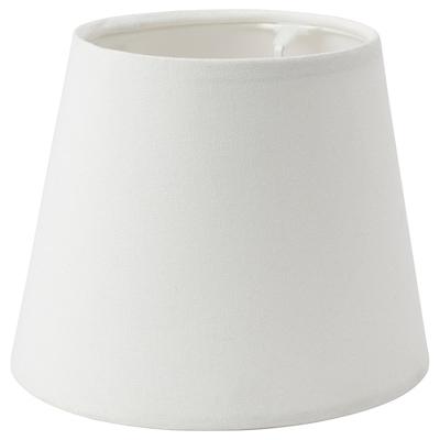SKOTTORP Lampeskjerm, hvit, 19 cm