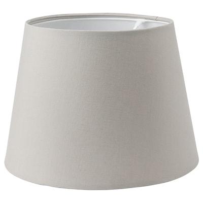 SKOTTORP Lampeskjerm, lys grå, 33 cm