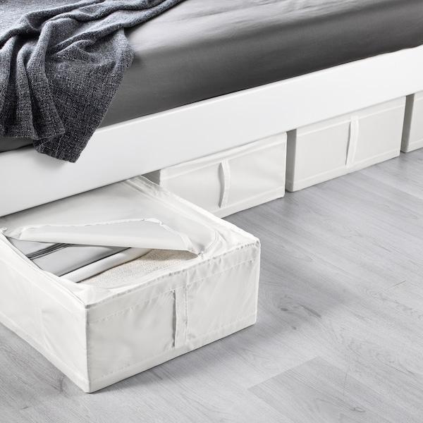 SKUBB Oppbevaring, hvit, 44x55x19 cm