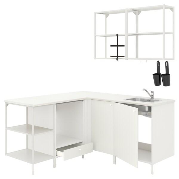 SKYDRAG / TRÅDFRI Belysningssett, hvit