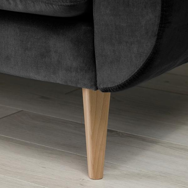 SMEDSTORP 2-seters sofa, Djuparp/mørk grå eik