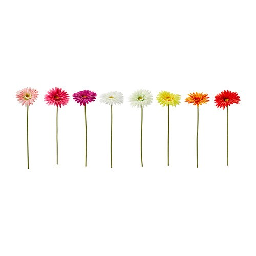 SMYCKA Kunstige blomster , Gerbera flere farger Høyde: 45 cm