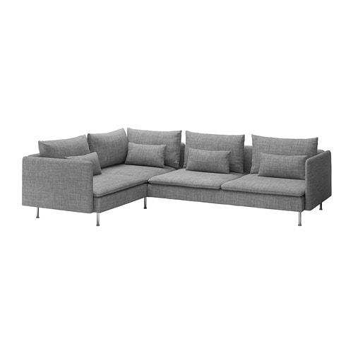 s derhamn hj rnesofa 4 seters isunda gr ikea. Black Bedroom Furniture Sets. Home Design Ideas