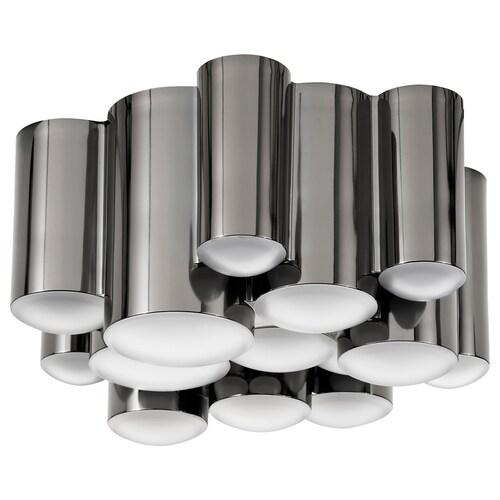 SÖDERSVIK LED plafond  dimbar/svart forkrommet 2700 K 850 lm 8.5 cm 21 cm 15.5 W