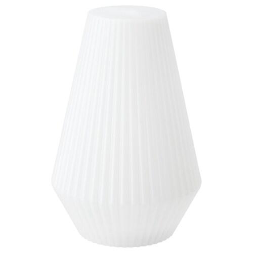 SOLVINDEN LED solcdr gulvlampe utendørs/plast hvit 20 cm 30 cm