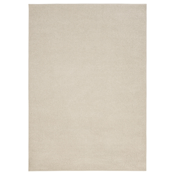SPORUP teppe, kort lugg lys beige 240 cm 170 cm 11 mm 4.08 m² 2200 g/m² 800 g/m² 9 mm