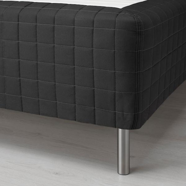 STAVANGER Rammemadrass, medium/antrasitt, 120x200 cm
