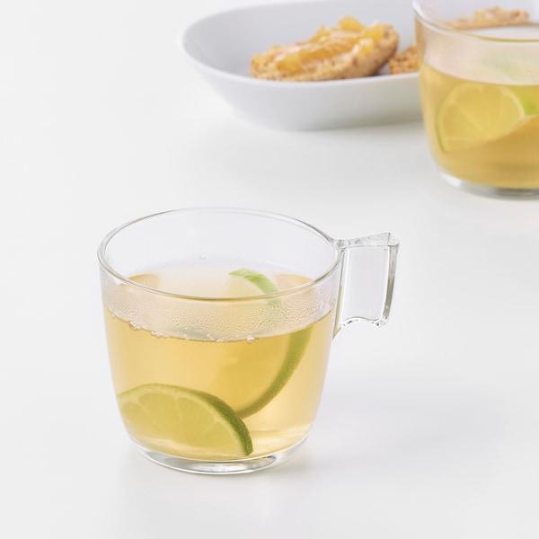 STELNA Krus, klart glass, 23 cl