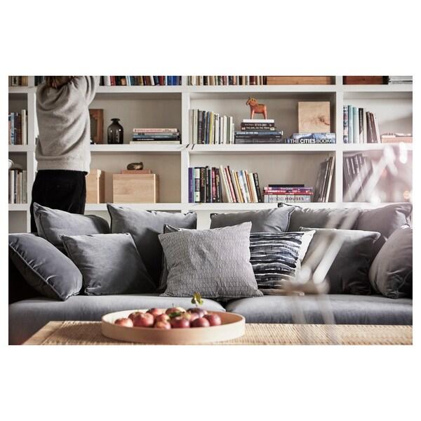 STOCKHOLM 2017 3-seters sofa, Sandbacka mørk grå