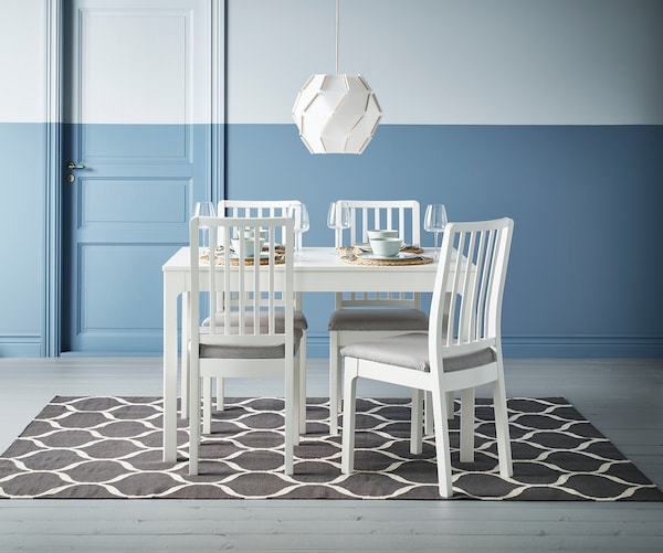 STOCKHOLM 2017 teppe, flatvevd håndlaget/nettmønster grå 240 cm 170 cm 4 mm 4.08 m² 1350 g/m²