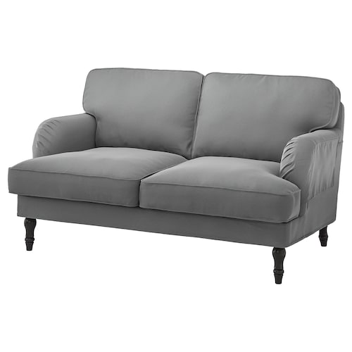 KNOPPARP 2 seters sofa Knisa lys grå IKEA