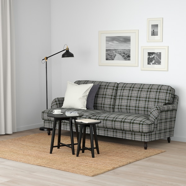 STOCKSUND Lenestol Segersta flerfargetsvarttre IKEA