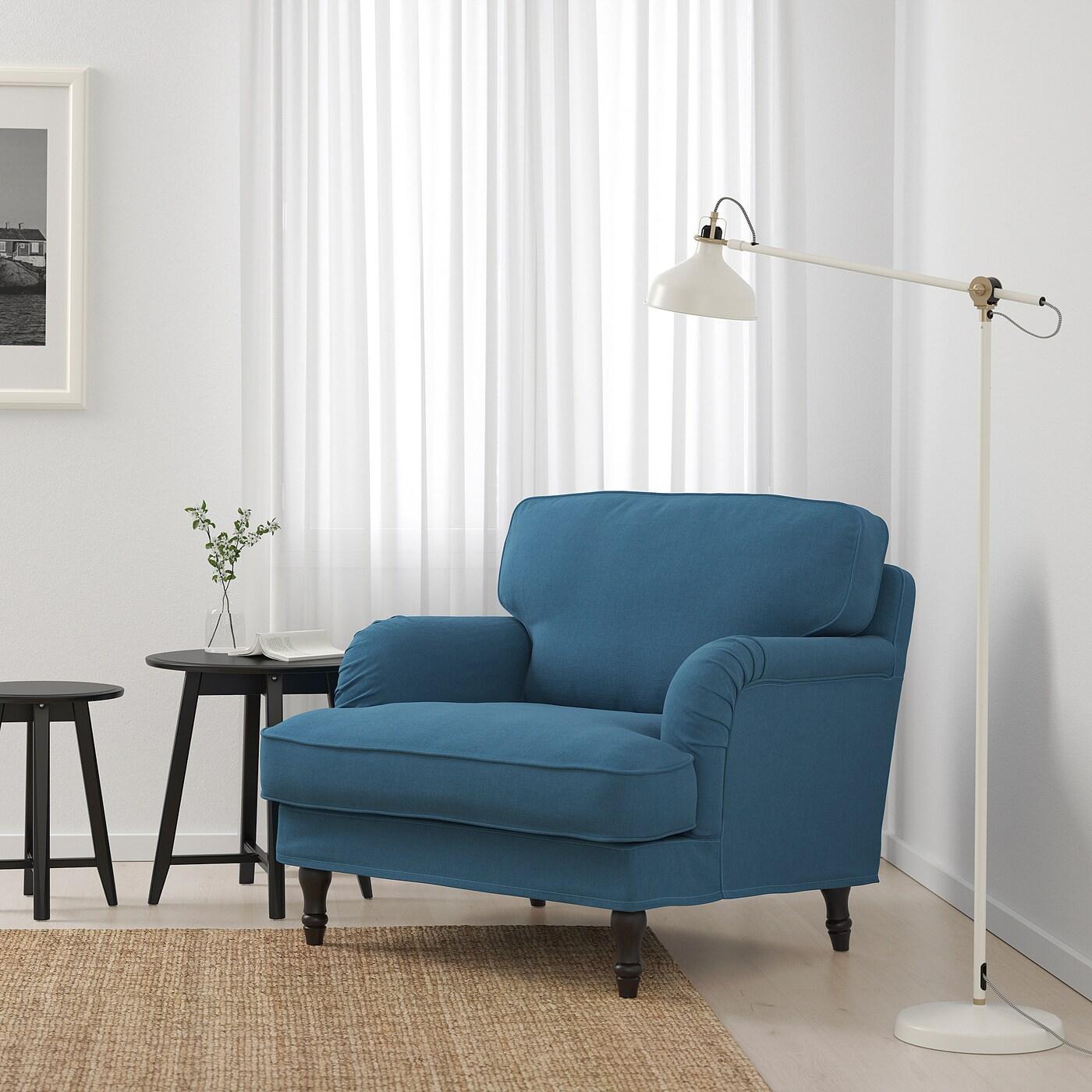 STOCKSUND Lenestol Ljungen blåsvarttre IKEA
