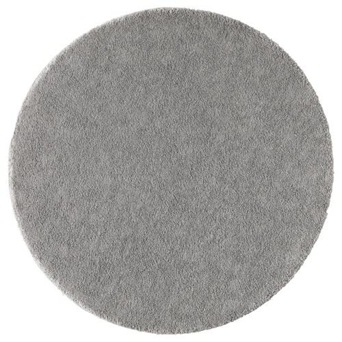 STOENSE teppe, kort lugg mellomgrå 130 cm 18 mm 1.33 m² 2560 g/m² 1490 g/m² 15 mm