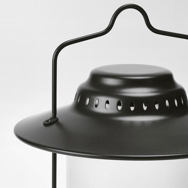 STORHAGA LED bordlampe, dimbar utendørs/svart, 35 cm