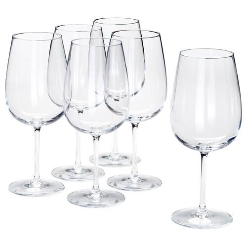 STORSINT rødvinsglass klart glass 21.5 cm 68 cl 6 stk.