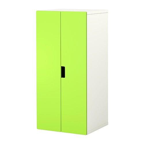 Stuva oppbevaring med dører   hvit/grønn   ikea