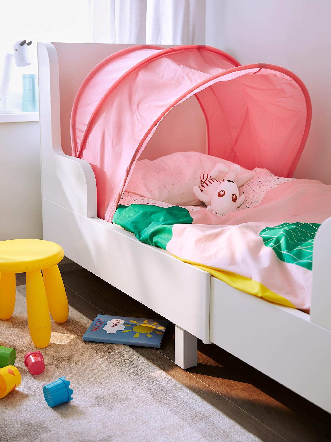 SUFFLETT Sengetelt rosa IKEA