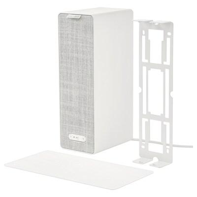 SYMFONISK / SYMFONISK Bokhyllehøyttaler med veggfeste, hvit, 31x10x15 cm