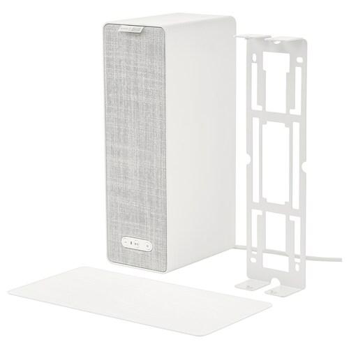 SYMFONISK / SYMFONISK bokhyllehøyttaler med veggfeste hvit 10 cm 15 cm 31 cm