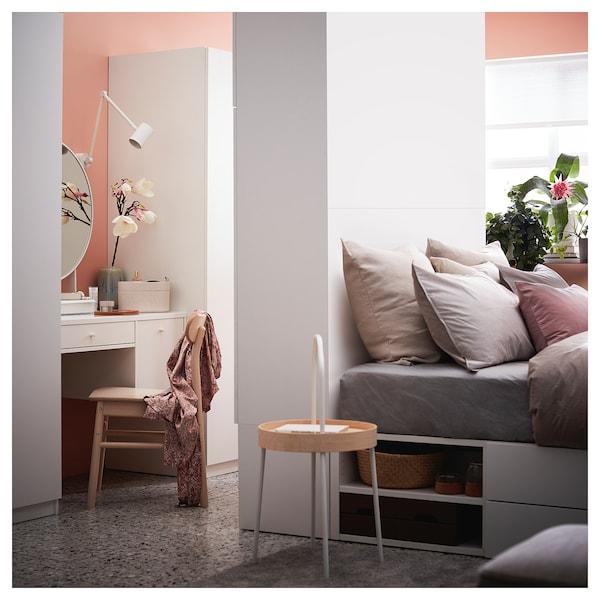 SYVDE Sminkebord, hvit, 100x48 cm