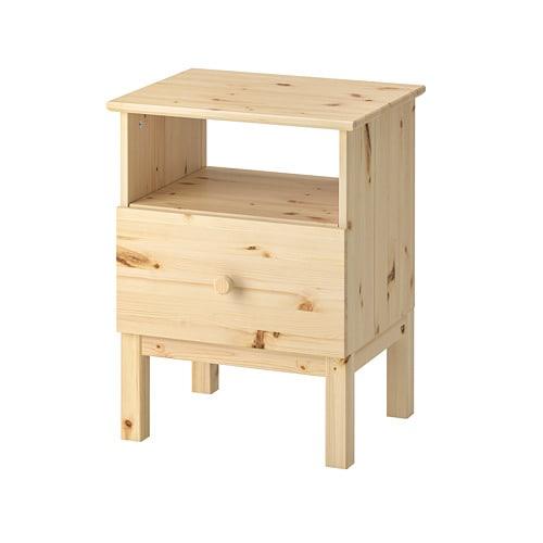 tarva nattbord ikea. Black Bedroom Furniture Sets. Home Design Ideas