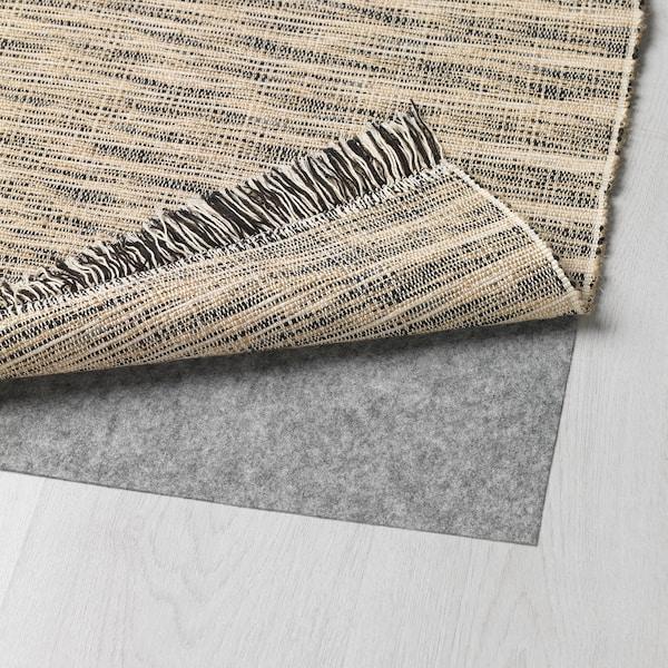 TAULOV Teppe, flatvevd, beige, 60x90 cm