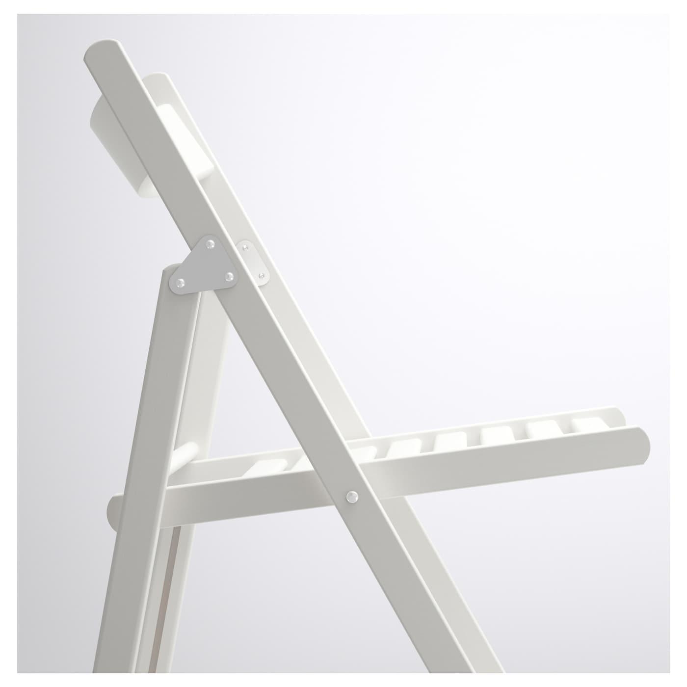 TERJE Klappstol hvit IKEA