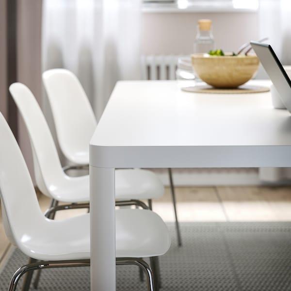 TINGBY LEIFARNE Bord og 6 stoler hvithvit IKEA