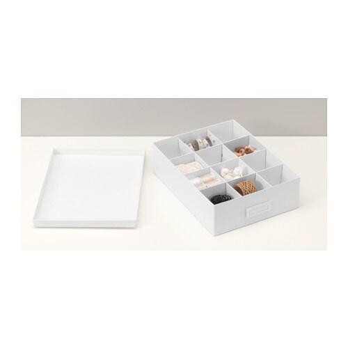 TJENA Boks m rom - hvit - IKEA