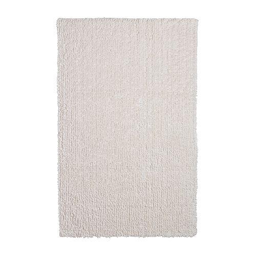 TOFTBO Baderomsmatte hvit Lengde: 100 cm Bredde: 65 cm