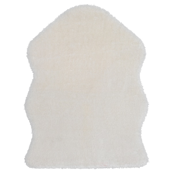 TOFTLUND Teppe, hvit, 55x85 cm
