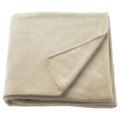 TRATTVIVA sengeteppe beige 250 cm 230 cm