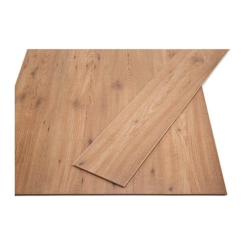 TUNDRA Laminatgulv IKEA Blekes ikke av sollys; gulvet kan også legges i rom med sterk sol.