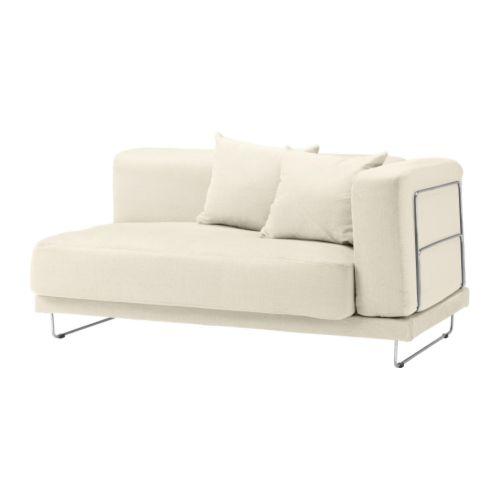 TYLÖSAND Trekk 2-seter sofa m 1 armlene natur