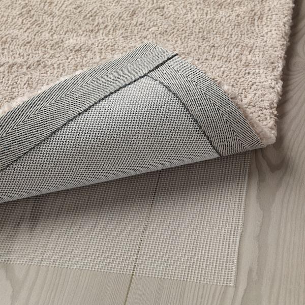 TYVELSE teppe, kort lugg offwhite 300 cm 200 cm 14 mm 6.00 m² 3000 g/m² 1880 g/m² 13 mm